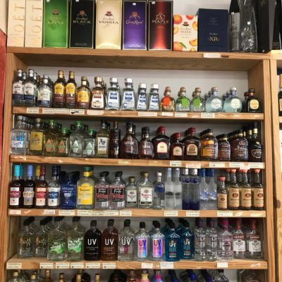 large liquor collection